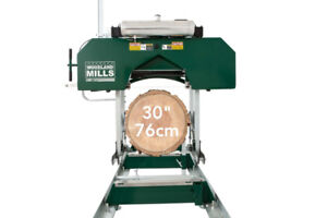 HM130 Sawmill with 14HP pull start - Woodland Mills