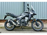 HONDA CB500X A2 COMPLIANT ADVENTURE BIKE WITH LOW MILES & FACTORY WARRANTY