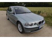 2003 BMW 316ti SE COMPACT 69K MILES! FULL HISTORY! PARK SENSORS! E46 316 318 320