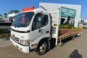 HINO 300 SERIES 717 ** TRAYBACK ** LOW KLMS **  #5026 Archerfield Brisbane South West Preview