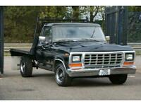 American Classic Flat Bed Ford F150 Pick Up Tuck Uk Registered Ideal Wrecker