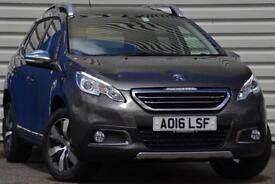 Peugeot 2008 Crossover 1.6BlueHDi Allure Manual 5 Door Crossover Grey 2016