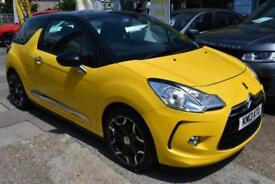 BAD CREDIT CAR FINANCE AVAILABLE 2013 13 CITROEN DS3 1.6THP 155 D SPORT