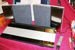 BANG & OLUFSEN BEOCENTER 9000 SPEAKERS 6716 REMOTE BEOLINK 1000
