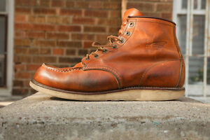 Red WIngs 875, 6 Inch Moc Toe Boot