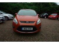 2011 Ford Grand C-Max 1.6 TDCi Zetec 5dr - CAR IS £4699 - £43 PER WEEK MPV Diese