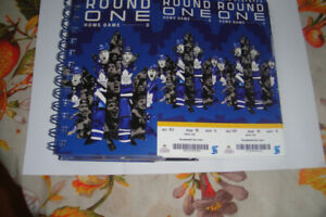 Leafs playoff tickets April 21 golds sec 101 row 10  $600 each