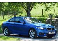 2014 BMW 2 Series M Sport Coupe Diesel Manual