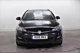 2015 Vauxhall Astra TECH LINE CDTI ECOFLEX S/S Diesel black Manual