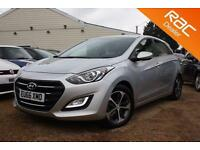 2016 66 HYUNDAI I30 1.4 SE NAV BLUE DRIVE 5D 99 BHP- USED CAR DEALER OF THE YEAR