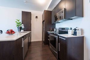 3 1/2 Modern, Luxurious Condo with Appliances  For Rent