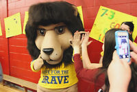 Shave for the Brave Mascot