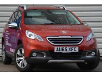 Peugeot 2008 Allure 1.2 Puretech 5 Door Crossover Petrol Manual Red 2015