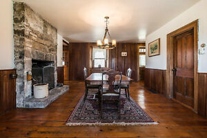 100 Acre Horse farm in Elgin with 1834 stone house West Island Greater Montréal image 7