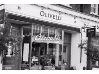 Waiting Staff Vacancies in Italian Restaurant, Bloomsbury
