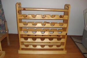 meuble en bois pour bouteille de vin Saguenay Saguenay-Lac-Saint-Jean image 2