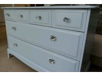 Up Cycled Vintage Stag Chest of Drawers/Dresser (Can Deliver)