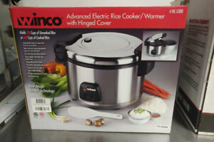 COMMERCIAL RICE COOKERS FOR SALE!