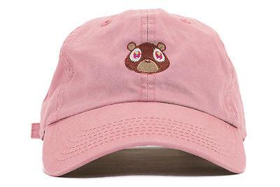 Kanye West Embroidered Dropout Bear Dad Hat Drake Pablo Baseball Cap Yeezus
