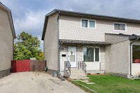 Super clean 3 bedroom on quiet street in St Vital available now!