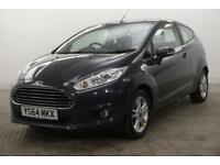 2015 Ford Fiesta ZETEC Petrol grey Manual