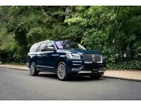 2018 Lincoln Navigator Reserve L Petrol blue Automatic