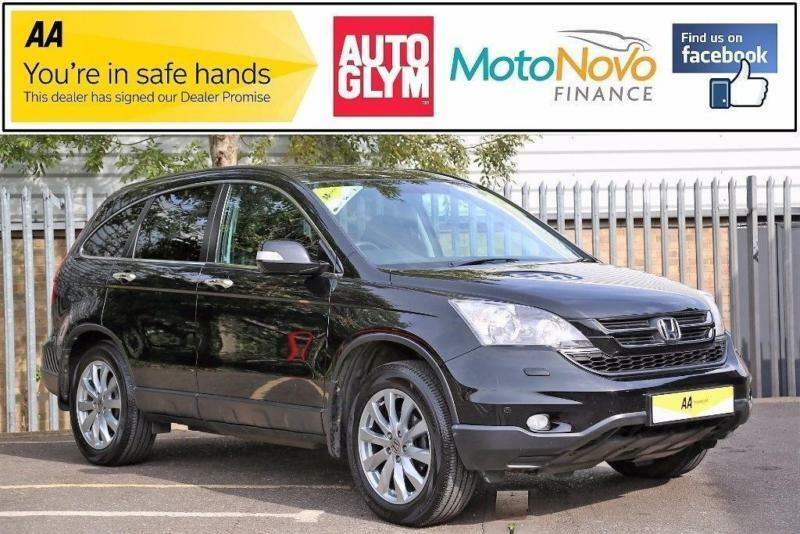 2010 Honda CR-V 2.0 i-VTEC ES Station Wagon 5dr Petrol black Manual