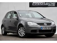 2008 Volkswagen Golf 1.9 TDI DPF Match 5dr