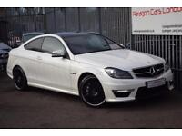 2012 Mercedes-Benz C Class C63 Coupe 6.2V8 457 AMG Edition 125 SpdS MCT7 Petrol