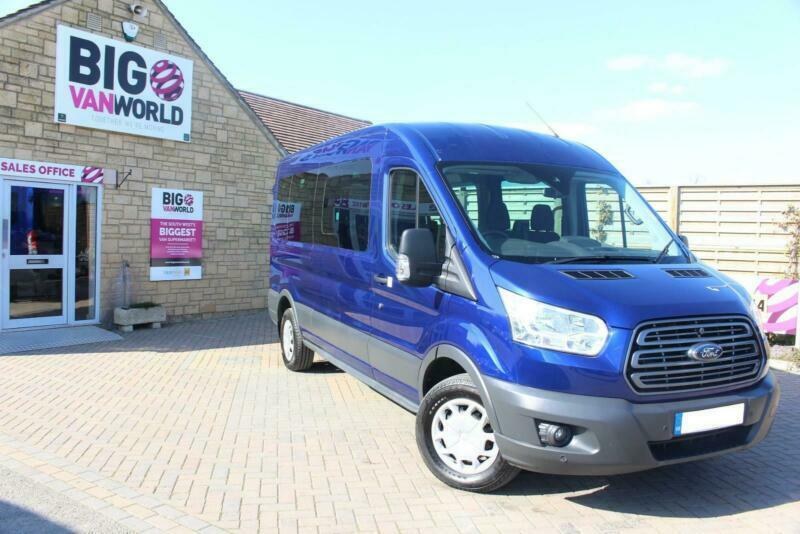 2016 FORD TRANSIT 410 TDCI 125 L3 H2 TREND 15 SEAT BUS LWB MEDIUM ROOF RWD  MINIB   in Cricklade, Wiltshire   Gumtree