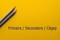 Tutorat/Aide aux devoirs: Primaire,secondaire,cégep