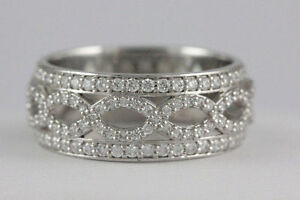 Platinum Diamond Ring (125 Diamonds, 0.75 tdw) #1871 Oakville / Halton Region Toronto (GTA) image 2