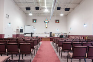 Worship Space for Rent in Mississauga - Evening Service