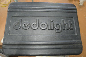 Dedolight 4 lamp head kit complete