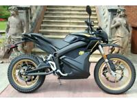 ZERO DSR 2020 14.4kW EX DEMO + 3 KW CHARGE TANK ONLY 2 HOUR CHARGE 340 MILES