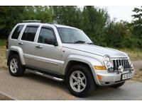 2006 Jeep Cherokee 2.8 TD Limited Auto 4x4 5dr TOP OF THE RANGE, CHROME LINE