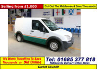 2007 - 07 - FORD TRANSIT CONNECT T200 L 1.8TDCI SWB VAN (GUIDE PRICE)