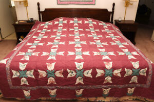 Beautiful New Hand-Made Quilt