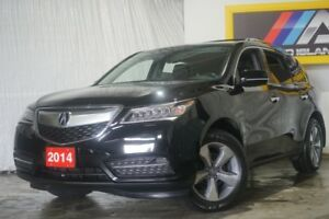 2014 Acura MDX CAMERA, DVD, BLUETOOTH, 7 Pass.,AWD,LEATHER SUNRO