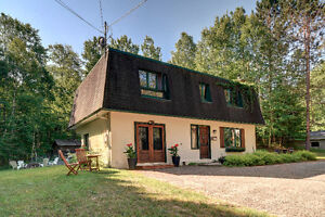 Lac Gelinas - Fantastic home with lake acces, Mont-Tremblant