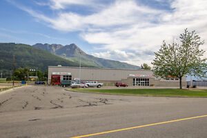 Salmon Arm - Prime Retail Lease Space with Highway Exposure