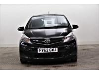 2012 Toyota Yaris VVT-I TR Petrol black Manual