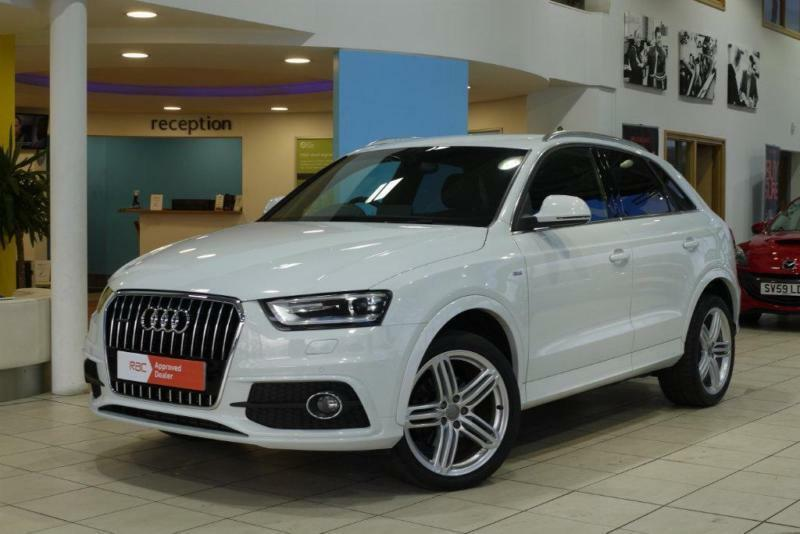 2014 audi q3 2 0 tdi s line plus s tronic quattro 5dr in. Black Bedroom Furniture Sets. Home Design Ideas