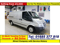 2012 - 12 - FORD TRANSIT T280 TREND 2.2TDCI 115PS FWD MWB VAN (GUIDE PRICE)