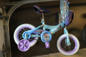 "Child's ""Frozen"" bicycle"