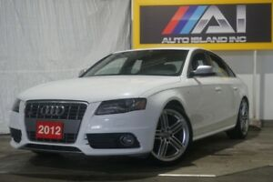 2012 Audi S4 S tronic,Bluetooth,AWD,Leather,Sunroof