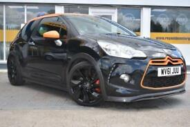 2011 61 CITROEN DS3 1.6THP 207bhp RACING GOOD AND BAD CREDIT FINANCE AVAILABLE
