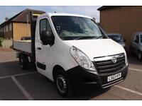 2013 Vauxhall Movano 2.3 CDTI H1 Chassis Cab 125ps Diesel white Manual