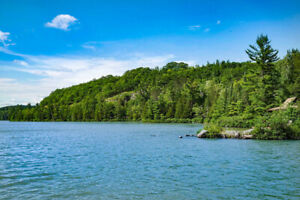 Waterfront Lot with scenic views