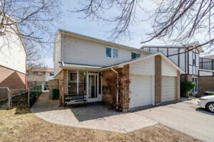 Well Maintained And Affordable End Unit Freehold Townhome
